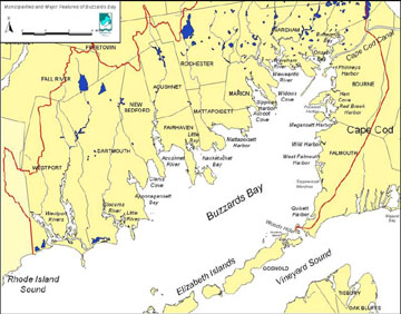 Buzzards Bay Ma One Of The Most Challenging And Satisfying Bodies - Map-of-us-east-coast-islands