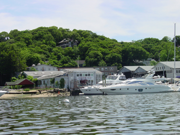 Huntington Harbor on Long Island Sound: Secure, Happening